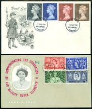 EDW1949SELL : GREAT BRITAIN 1969 Cachet, unaddressed FDC of Scott #510-13