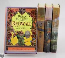 4V Youth AUTHOR SIGNED REDWALL SERIES JACQUES Mattimeo Mossflower Ma... Lot 5069