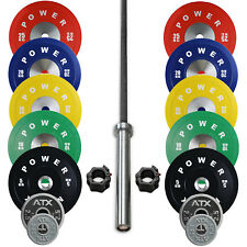 POWER MAXX Premium Bumper Package 157.5 kg // Weightlifting Crossfit Competition
