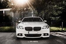 schwarze Nieren hochglänzend 5er BMW F10 Frontgrill Kühlergrill salberk 1001DL
