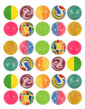 30x Bouncy JET BALLS Childrens Kids Party Loot Pinata Goodie Bag Filler Favour