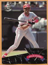 1992 Fleer Ultra Reggie Sanders All Rookie Team Card #8 of 10 Cincinnati Reds