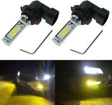 Calais H10 LED Bulb Yellow 3000K Super Bright COB Chips 2000 Lumens SETx2