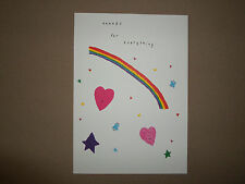 "Thanks For Everything~Greeting Card & Envelope By Blue Mountain Arts~7"" X 5""~NEW"