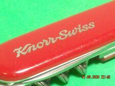 Victorinox Small Standard Swiss Army Knife 84mm pre1985 KNORR SWISS