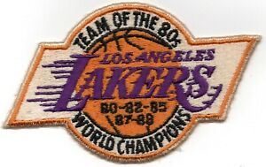 Los Angeles Lakers Vintage Team Of The 80's World Champions Collectible Patch