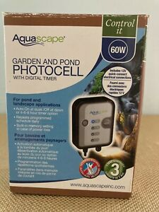Aqua Scape Garden And Pond Photocell With Digital Timer 84039 60W