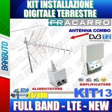 ANTENNA FRACARRO KIT 13 CON BLU COMBO LTE + MAP2r3+U LTE + MINI POWER 12 VOLT