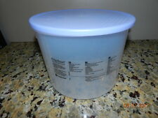 Tupperware Fridgesmart Large Round 20 Cup Vented Container #3998A sheer