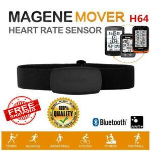 MAGENE H64 Bluetooth ANT+Heart Rate Monitor Band Pulse Sensor Meter Fitness Belt