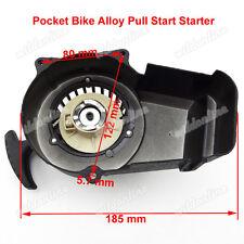 Pocket Bike Alloy Pull Start Starter Fit 47 49cc 2 Stroke Quad ATV Mini Scooter
