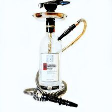 Ketel One® Hookah Shisha Narghile Chicha 1.75L Vodka Glass Bottle Hand Made Rare