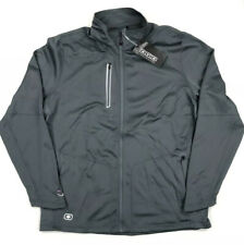 Ogio Mens Endurance Long Sleeve Full Zip Size Xl Gray Reflective logo