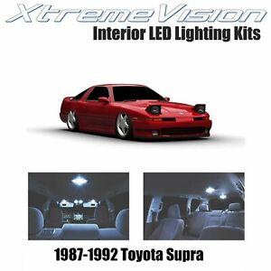 XtremeVision Interior LED for Toyota Supra 1987-1992 (4 PCS) Cool White