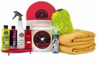 Chemical Guys HOL132 Best Car Wash Bucket Kit w/Dirt Trap (11 Items) Free Ship