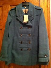 NWT Burberry Coat Jacket Double Breasted Military US Size 14   $1095
