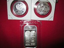 2  oz .999 fine 10 ten commandments silver bullion round coin