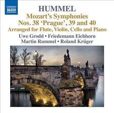 Mozart's Symphonies 1: Nos. 38 Prague / 39 & 40, New Music