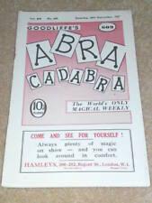 VINTAGE ABRACADABRA (MAGIC) - Dead Cert by Johnny Gedde