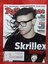 Rolling Stone March 27 2014 Skrillex Bill Gates Pharrell Carrie Brownstein Beck
