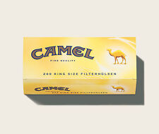 40 x 200 Camel 8000 Filterhülsen Hülsen Zigarettenhülsen