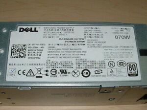Dell Poweredge R710 T610 870W Power Supply PT164 VT6G4 YFG1C 7NVX8 NO TAB