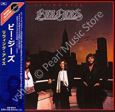 BEE GEES LIVING EYES CD MINI LP OBI Barry Gibb Robin Gibb Maurice Gibb album new