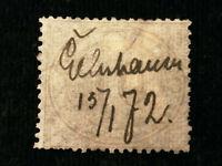 Altdeutschland Norddeutscher Bund 1869 - MiNr. 25 Freimarke für den Innendienst