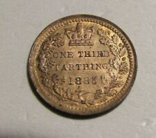 Great Britain Malta 1885 1/3 Farthing unc coin