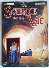 Science et vie n°199 du 1/1934; Cellule Photoélectrique/ Alcool Absolu/ Colorado