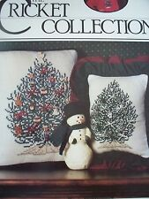 Trim The Tree Christmas Cross Stitch PATTERN  Booklet/Leaflet