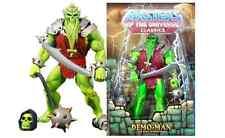 MOTU Classics DEMO-MAN New/Sealed Masters of the Universe Action Figure Skeletor