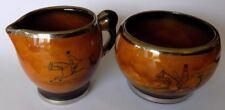 Peel chasse thème pot à lait pot à lait & sucrier cuisine vaisselle maison Angleterre