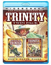 PRE ORDER: TRINITY double feature (Terence Hill)  - BLU RAY - Region A - Sealed