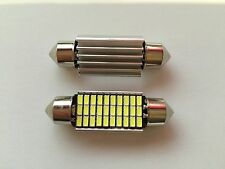 2x 38mm soffitte 30x SMD LED fußraumbeleuchtung bmw 3er e46 Touring luz blanca