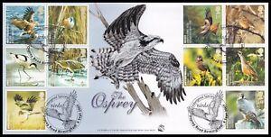 2007 GB Birds Action for Species Bradbury S91 FDC Osprey Road Birmingham SHS