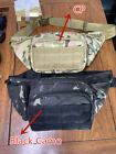 Tactical Waist Bag Gun Holster Military Fanny Pack Shoulder Bag Concealed Carry