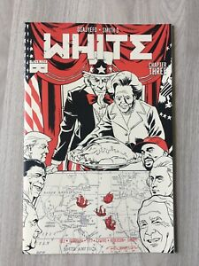 White #3 Black mask comics 1st print limited to 2500