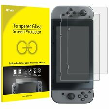 Nintendo Switch Accessoire Film de Protection d'Écran JETECH en Verre Trempé x2