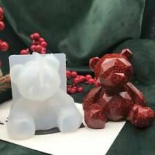 3D Bear Mold Cake Topper Fondant Mould Sugarcraft Chocolate Icing