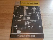 Vintage Playbill Program I Never Sang For My Father 67 Forrest Theatre Alan Webb