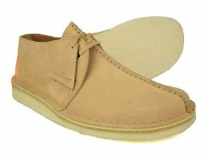 Clarks Originals Light Tan Suede Desert Trek Shoes Free UK P&P!