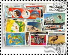 World : 1000 Different Worldwide Stamps Collection