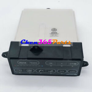 Air Conditioner Panel 20Y-979-3170 For KOMATSU PC240-6 PC270-6 PC180-6 PC300-6