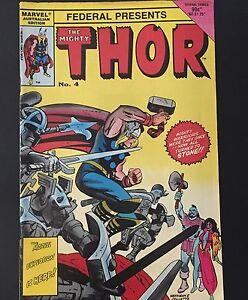 Marvel Australian Edition The Mighty Thor No4