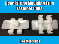 20x Clips For Mercedes Door Moulding Trim E C CLK Class S220 White Plastic