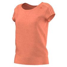 adidas Hip Length Short Sleeve Basic T-Shirts for Women