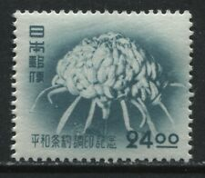 Japan Flower mint og. hinged