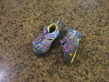 KEEN Newport H2 infant 5 Sandals Athletic blue boy Girl canvas hiking EUR 22