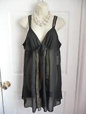 Oscar de la Renta L NWT $72 Bridal Gown Chemise Nightgown Babydoll Pink Label